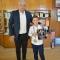 Малък шампион по мотокрос се срещна с кмета на Гоце Делчев и получи почетния знак на града