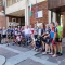 Втора група участници в Български колоездачен тур посети днес град Гоце Делчев