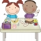 Безплатен топъл обяд за децата в риск от Гоце Делчев и с. Баничан
