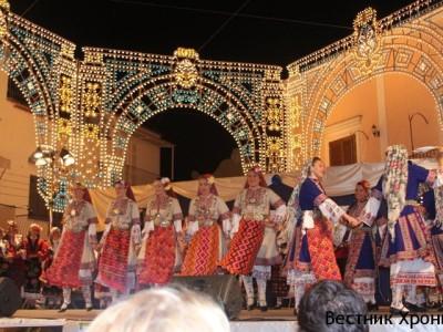 Златни медали за Неврокопския ансамбъл за народни песни и танци от Гоце Делчев