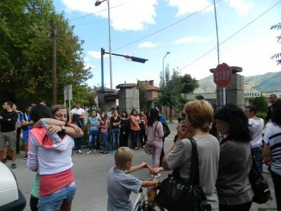 Протест срещу лекарските грешки в Гоце Делчев, докторите отричат