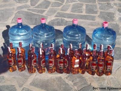 Контрабанда на дрога и алкохол през ГККП Илинден – Ексохи