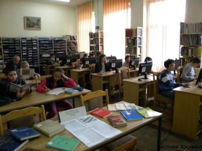 Чети с разделител – инициатива в библиотеката на Гоце Делчев