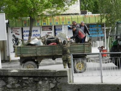 Жителите на Гоце Делчев пазят града си чист