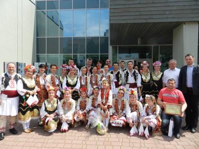 Неврокопски танцьори представиха българския фолклор в Полша