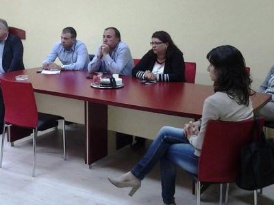 """Богдан Боцев днес се срещна с лекарите от МБАЛ """"Иван Скендеров"""" в родния си град"""