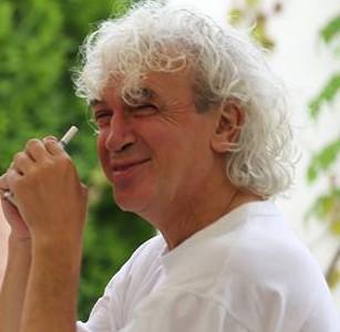 Николай Маринов показва свои картини в къщата на Пикасо