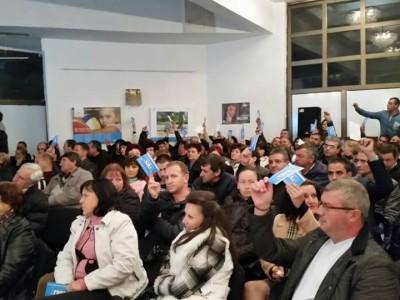 Общинската конференция на ГЕРБ в Гоце Делчев не донесe изненади