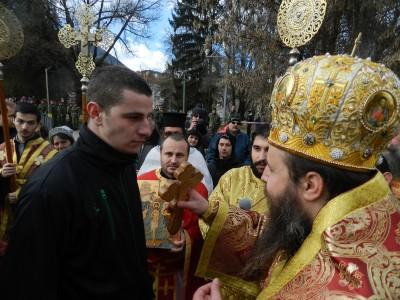 Васил Зинков хвана кръста в Гоце Делчев