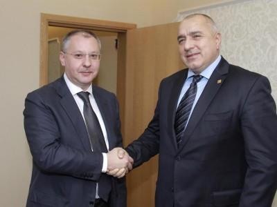 Борисов и Станишев си говориха за Шенген