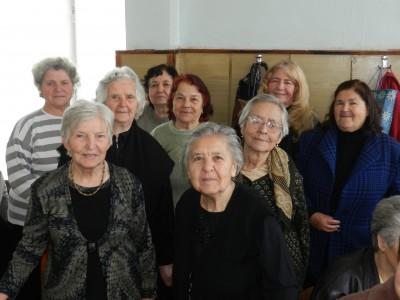 Баба Марта и рождени дни в Клуба на пенсионерите в Гоце Делчев