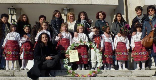 Златен плакет и златна лира за децата на Гоце Делчев