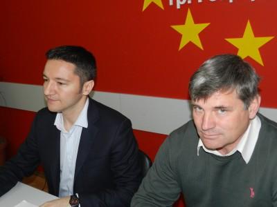 Кристиян Вигенин в Гоце Делчев