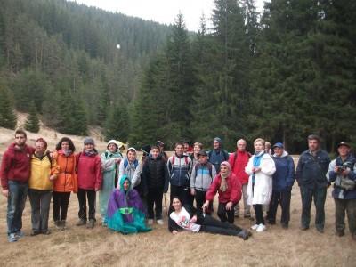 Пролетни походи на любители планинари от Гоце Делчев и Абланица