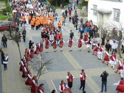 Клубове за народни танци от цяла България дойдоха и виха хора в Гоце Делчев