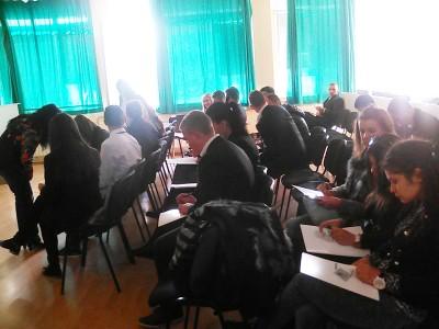 """НПГ """"Д. Талев"""" бе домакин на мастер клас """"Умения за бъдещето"""" – учениците смятат, че бизнесът е длъжник на образованието"""