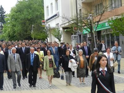 Трима депутати дойдоха за юбилея на НПГ