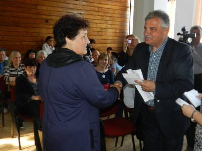 Кметът Владимир Москов награди най-активните в пролетното почистване на гр. Гоце Делчев