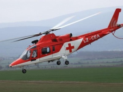 "Хеликоптер транспортира тежко пострадал работник от Гоце Делчев за ""Пирогов"""