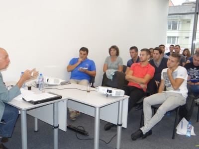 Журналистът Георги Коритаров пристигна в Гоце Делчев по покана на кандидат-кмета Георги Андонов