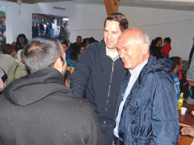 Кандидатът за кмет на Гоце Делчев Георги Андонов и заместник-председателят на НС Димитър Главчев поздравиха мюсюлманите за Курбан Байрам