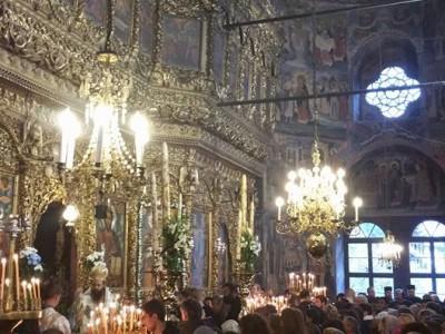 Църковен хор от гр. Драма почете празника на Св. Иван Рилски в Рилския манастир
