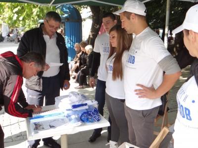 """Инициатива """"Ако днес бях кмет"""" организираха отново младежите от ГЕРБ – Гоце Делчев"""