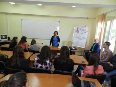 """Нови доброволци се присъединиха към каузата на сдружение """"Хроника срещу рака"""""""