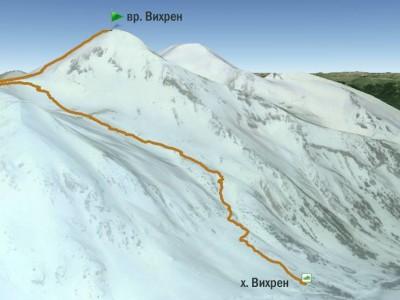 Спасени са тримата туристи в подножието на връх Вихрен
