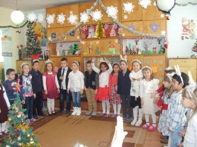 Децата на село Корница в очакване на новата 2016