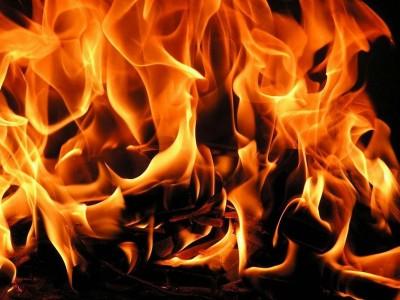 Пожар гасиха тази нощ огнеборци от Гоце Делчев
