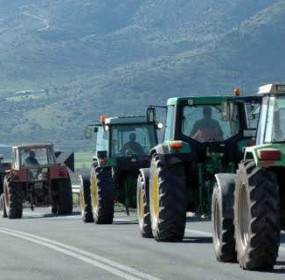 Втори ден трактори на протестиращи гръцки земеделци стоят на ГКПП Ексохи – Илинден