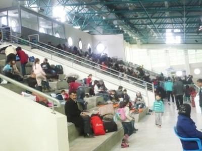 ГКПП Илинден-Ексохи е отворен за 24 часа, над хиляда бежанци чакат в Кавала