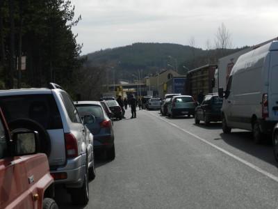 """Нова 48 часова блокада на гръцките фермери за камиони и ТИР-ове през ГКПП """"Илинден – Ексохи"""""""