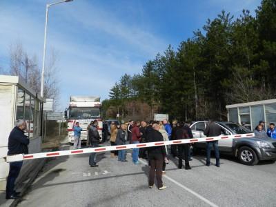 Българските превозвачи ще блокират границата пак от понеделник
