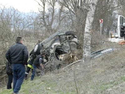 Момче и момиче загинаха на място при тежка катастрофа край Гоце Делчев