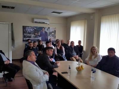 Георги Андонов официално сдаде властта на тричленка от ГЕРБ – Гоце Делчев
