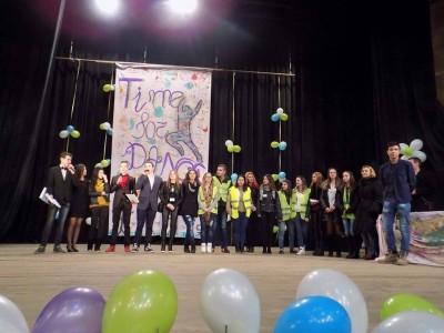 """Раздадоха наградите Time for dance на НПГ """"Димитър Талев"""" в Гоце Делчев"""