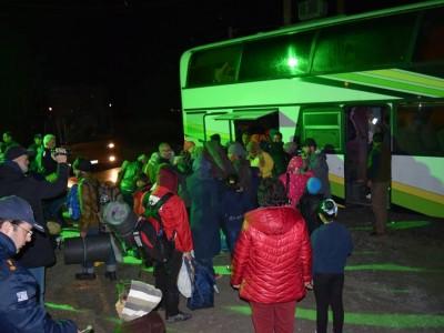 Нови бежанци пристигнаха в Драма, ООН провери условията за живот в лагера