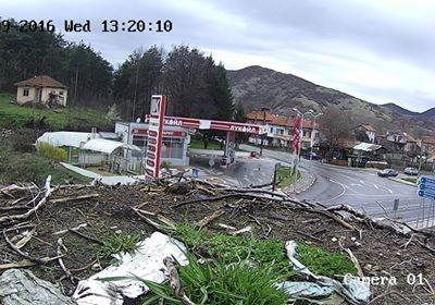 Първата камера в България за видеонаблюдение на щъркелово гнездо, беше монирана в село Баничан
