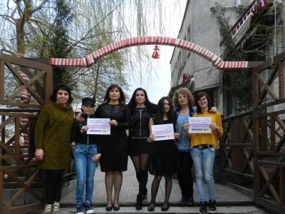 Победителите във фотоконкурса УСМИВКИТЕ НА ГОЦЕ ДЕЛЧЕВ получиха своите награди