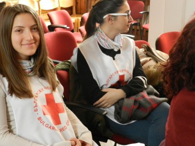 Опитът на доброволците от БЧК – Гоце Делчев получи международно признание
