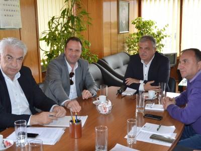 Кметът на гръцката курортна община Пангеос бе приет от кмета на Гоце Делчев