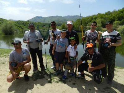 Риболовен турнир край язовира на Лъжница