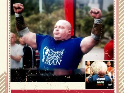 Най-силният мъж на Америка пристига в родния си Гоце Делчев
