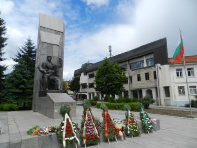 В памет на Гоце Делчев в града, който носи името му