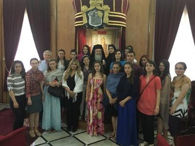 Валентина Червенкова, Елена Папалюгова и Кристина Балтаджиева от Гоце Делчев се завърнаха от Израел с изпълнена мисия