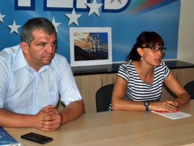 Даниела Савеклиева в Гоце Делчев: Вярвам в новото ръководство на ГЕРБ