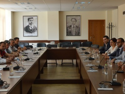 Италианският бизнес проучва възможности за инвестиции в Гоце Делчев