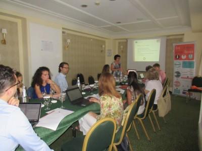 """Заключителна среща по проекта """"Бъди си сам шеф"""", в която участваха партньори от Бизнес инкубатор – Гоце Делчев"""